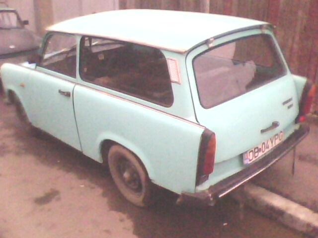 Vand trabant 601 an 1986 vopsea originala itp 2010