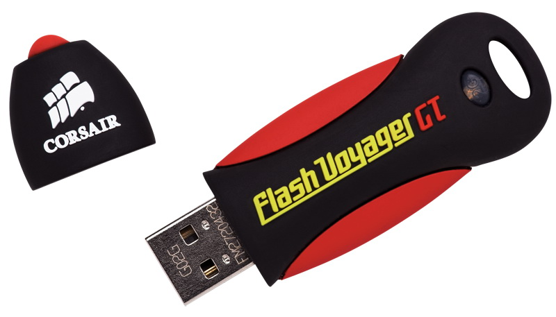 Vand memorie flash usb corsair voyager gt - 16gb